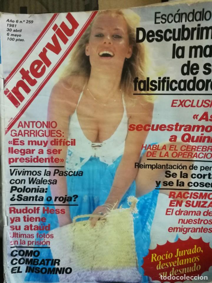 Coleccionismo de Revista Interviú: LOTE 49 REVISTAS INTERVIU ANTIGUAS - Foto 95 - 133414506