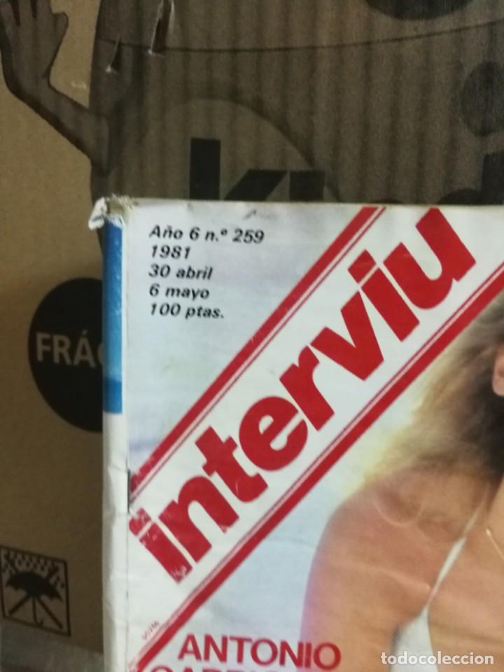 Coleccionismo de Revista Interviú: LOTE 49 REVISTAS INTERVIU ANTIGUAS - Foto 96 - 133414506