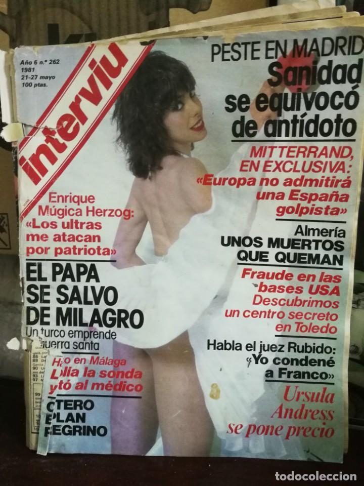 Coleccionismo de Revista Interviú: LOTE 49 REVISTAS INTERVIU ANTIGUAS - Foto 97 - 133414506