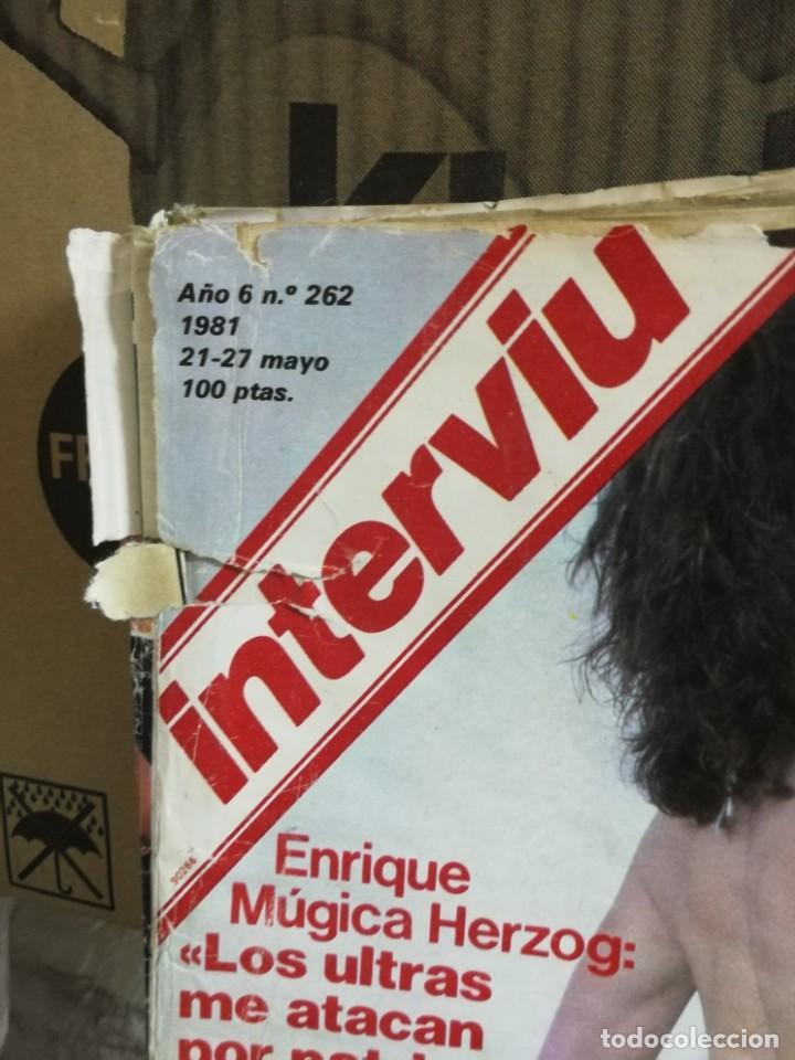 Coleccionismo de Revista Interviú: LOTE 49 REVISTAS INTERVIU ANTIGUAS - Foto 98 - 133414506