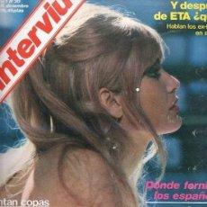 Coleccionismo de Revista Interviú: REVISTA INTERVIU 1976 AÑO 1 Nº 30 - MARISA MELL - OSBORNE CONTRA TERRY - PALMAR DE TROYA. Lote 133529802