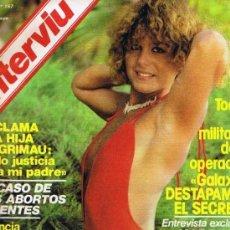 Coleccionismo de Revista Interviú: REVISTA INTERVIU - Nº 157 - OPERACIÓN GALAXIA - LAS TRILLIZAS DE ORO - LAZAROV - LOS FACHAS. Lote 133530018