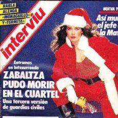Coleccionismo de Revista Interviú: REVISTA INTERVIU 502 / DICIEMBRE 1985. Lote 133530090