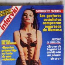 Coleccionismo de Revista Interviú: REVISTA INTERVIU - Nº 546 - 1986 - ALASKA - PILAR MIRO -. Lote 133579598