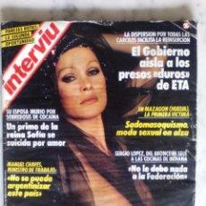 Coleccionismo de Revista Interviú: REVISTA INTERVIU - Nº 657 - 1988 - URSULA ANDRESS - IMANOL ARIAS Y PASTORA VEGA -. Lote 133581730