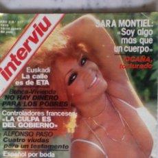 Coleccionismo de Revista Interviú: REVISTA INTERVIU - Nº 117 - 1978 - SARA MONTIEL - BEATRIZ CARBAJAL -. Lote 133607098