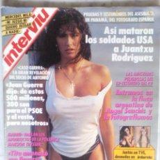 Coleccionismo de Revista Interviú: REVISTA INTERVIU - Nº 729 - 1990 - SABRINA,ANGELA CAVANGA,CARMEN ROUSO, SAMANTA FOX - MERCEDES MILA. Lote 133608590