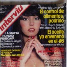Coleccionismo de Revista Interviú: REVISTA INTERVIU - Nº 280 - 1981 - BIBI ANDERSEN - EL CORDOBES -. Lote 133623582