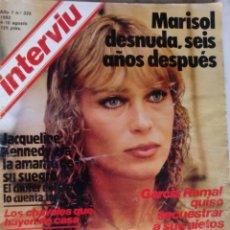 Coleccionismo de Revista Interviú: REVISTA INTERVIU - Nº 325 - 1982 - MARISOL - ANA BELEN -. Lote 133700182