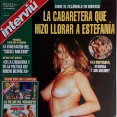Coleccionismo de Revista Interviú: REVISTA INTERVIÚ Nº 1063 FILI HOUTEMAN DANIEL DUCRET, ARTURO PEREZ REVERTE, LUIS BUÑUEL LAS HURDES. Lote 138868058
