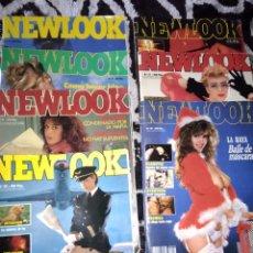 Coleccionismo de Revista Interviú: LOTE REVISTA NEWLOOK NR , 8,9,11,25,31,35,48 AZUCAR MORENO Y MAS ARTISTAS. Lote 139905830