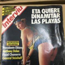 Coleccionismo de Revista Interviú: REVISTA INTERVIU GLORIA MAYO 1985 Nº 469 MARIBEL VERDU. Lote 139994262