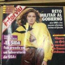 Coleccionismo de Revista Interviú: REVISTA INTERVIU NOVIEMBRE 1986 Nº 548 CARMEN SEVILLA JUEZ LEZEA DRAZEN PETROVIC CASO ARCHER. Lote 139994786
