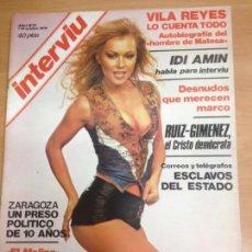 Coleccionismo de Revista Interviú: REVISTA INTERVIU Nº 21 AÑO 1 OCTUBRE 1976 SALA EL MOLINO . Lote 141659866