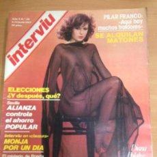 Coleccionismo de Revista Interviú: REVISTA INTERVIU Nº 56 JUNIO 1977 . Lote 141678198