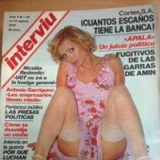 Coleccionismo de Revista Interviú: REVISTA INTERVIU Nº 65 AGOTO 1977 . Lote 141678954