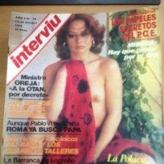 Coleccionismo de Revista Interviú: REVISTA INTERVIU Nº 74 OCTUBRE 1977 LA POLACA. Lote 141679194