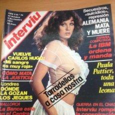 Coleccionismo de Revista Interviú: REVISTA INTERVIU Nº 76 OCTUBRE 1977 . Lote 141679306