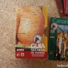 Coleccionismo de Revista Interviú: INTERVIU.GUÍA SECRETA DE ESPAÑA. 13 LIBRILLOS. AÑOS 80.. Lote 142100758