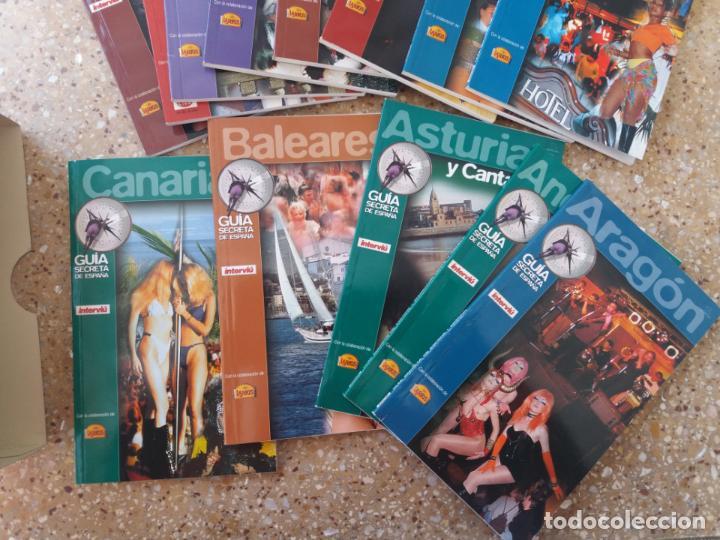 Coleccionismo de Revista Interviú: INTERVIU.GUÍA SECRETA DE ESPAÑA. 13 LIBRILLOS. AÑOS 80. - Foto 5 - 142100758