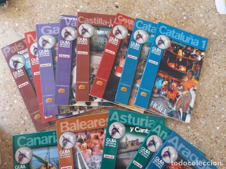 Coleccionismo de Revista Interviú: INTERVIU.GUÍA SECRETA DE ESPAÑA. 13 LIBRILLOS. AÑOS 80. - Foto 6 - 142100758