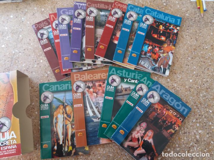 Coleccionismo de Revista Interviú: INTERVIU.GUÍA SECRETA DE ESPAÑA. 13 LIBRILLOS. AÑOS 80. - Foto 7 - 142100758