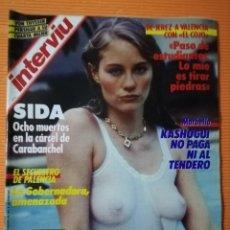 Coleccionismo de Revista Interviú: INTERVIÚ Nº 564. AÑO 12. CYBILL SHEPPERD EN PORTADA. 1987. Lote 142272966