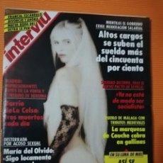 Coleccionismo de Revista Interviú: INTERVIÚ Nº 790. LUNA DE MIEL CICCIOLINA. JUNIO 1991. Lote 142356114