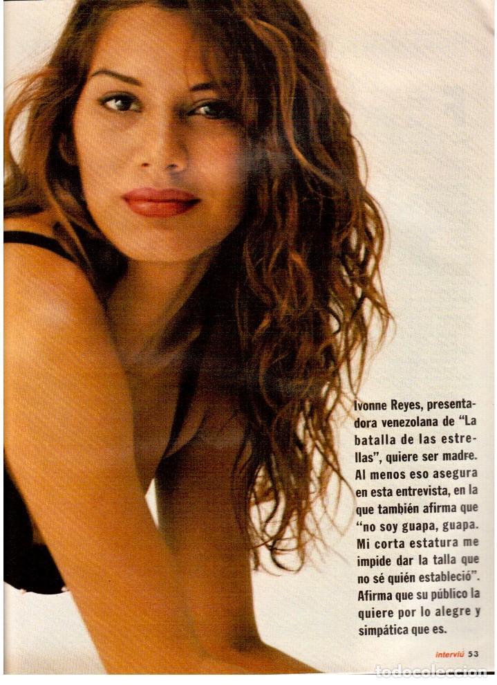 Coleccionismo de Revista Interviú: IVONNE REYES. LA MÁS EXCITANTE. - Foto 2 - 115952063