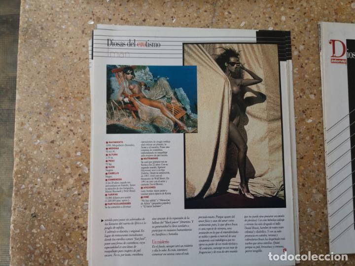 Coleccionismo de Revista Interviú: 9 POSTERS INTERVIÚ. DIOSAS DEL EROTISMO. - Foto 14 - 142958410
