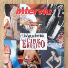 Coleccionismo de Revista Interviú: LIBRO INTERVIU LOS SECRETOS DEL CINE EROTICO LUIS GASCA. Lote 143047494