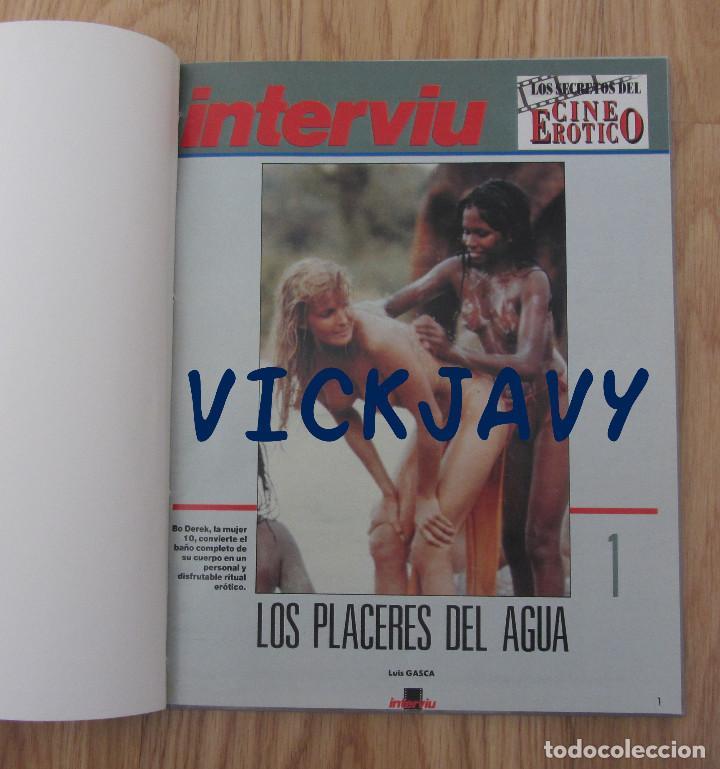 Coleccionismo de Revista Interviú: LIBRO INTERVIU LOS SECRETOS DEL CINE EROTICO LUIS GASCA - Foto 2 - 221954352