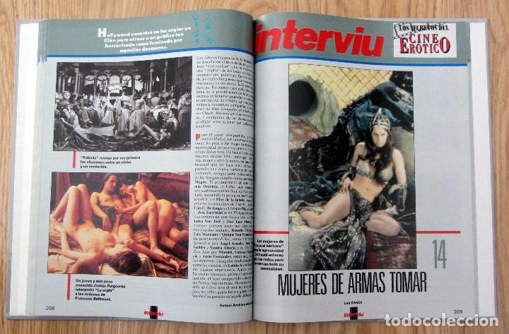 Coleccionismo de Revista Interviú: LIBRO INTERVIU LOS SECRETOS DEL CINE EROTICO LUIS GASCA - Foto 3 - 221954352