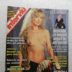 Coleccionismo de Revista Interviú: INTERVIU REVISTA Nº 934 - MARZO 1994 - ESCANDALOSA DEUDA DEL PSOE - VALENCIA NO QUIERE SER CATALANA. Lote 143323566