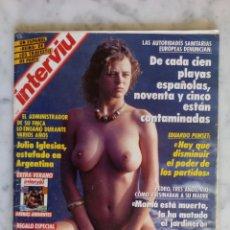 Coleccionismo de Revista Interviú: REVISTA INTERVIU - Nº 800 - EMMA SUAREZ - JULIO IGLESIAS - MANOLO SANTANA -. Lote 143443974