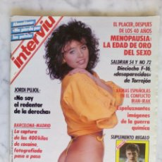 Coleccionismo de Revista Interviú: REVISTA INTERVIU - Nº 621 - ALMODÓVAR - LOS EUROGOLES DEL REAL MADRID . Lote 143457706