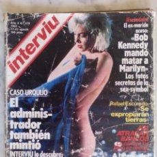Coleccionismo de Revista Interviú: REVISTA INTERVIU - Nº 379 - MARILYN LAS FOTOS SECRETAS - MARIA JOSE CANTUDO -. Lote 143469898