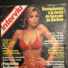 Coleccionismo de Revista Interviú: REVISTA INTERVIU. 1984. DESNUDO NOVIA DE GONZALO DE BORBON. Lote 143913422