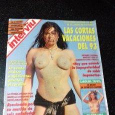 Coleccionismo de Revista Interviú: REVISTA. INTERVIU. AGOSTO 1993. Nº 901. AÑO 18. RACHEL BIANCA DESNUDA . LEER.. Lote 144282554