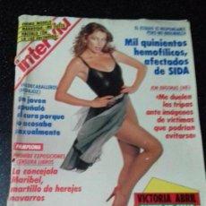 Coleccionismo de Revista Interviú: REVISTA. INTERVIU. DICIEMBRE 1991. Nº 813. AÑO 16. VICTORIA ABRIL EN TOP-LESS. LEER.. Lote 144286162