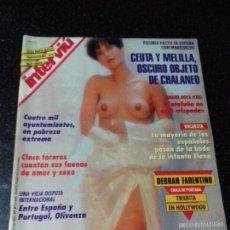 Coleccionismo de Revista Interviú: REVISTA. INTERVIU. DICIEMBRE 1993. Nº 971. AÑO 1994. DEBRAH FARENTINO. LEER.. Lote 144288266