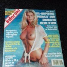 Coleccionismo de Revista Interviú: REVISTA. INTERVIU. OCTUBRE 1994. Nº 963. AÑO 19. BIBI ANDERSEN, AL NATURAL. LEER.. Lote 144288690