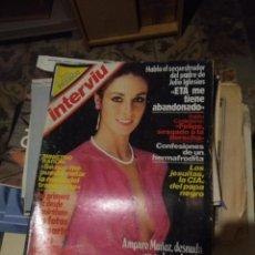 Coleccionismo de Revista Interviú: INTERVIU : AMPARO MUÑOZ . Lote 145281050