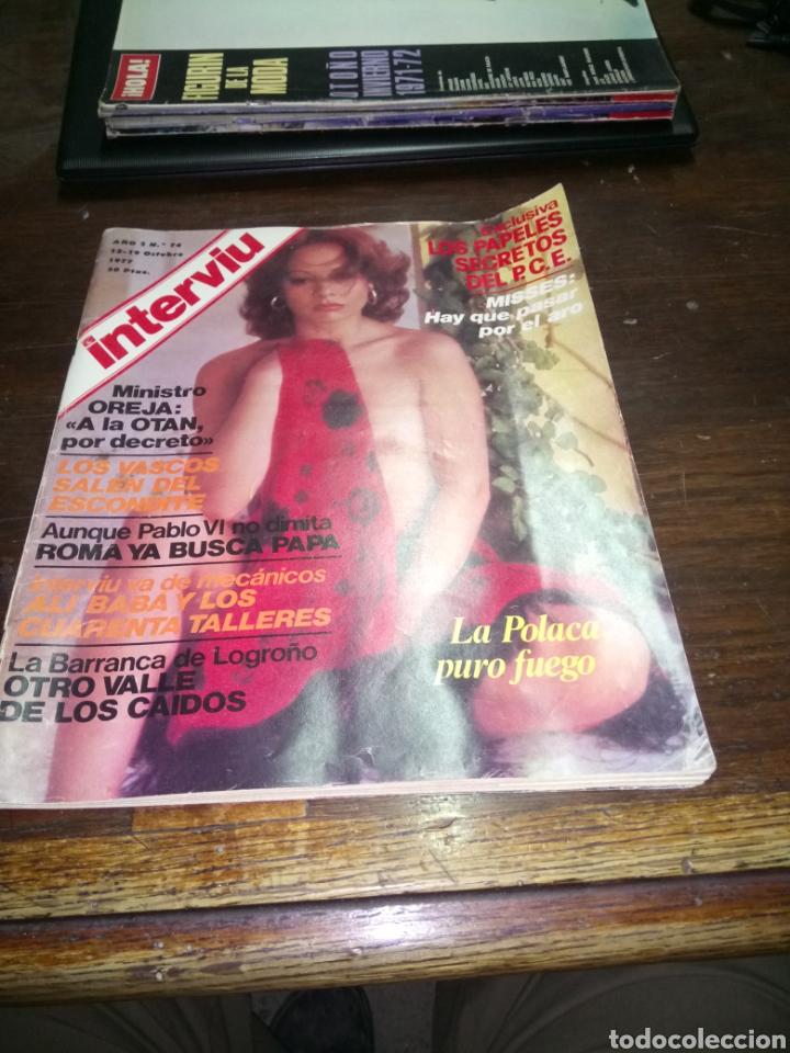 REVISTA INTERVIU N° 74 DEL AÑO 1977 (Coleccionismo - Revistas y Periódicos Modernos (a partir de 1.940) - Revista Interviú)