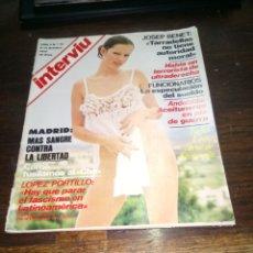 Coleccionismo de Revista Interviú: REVISTA INTERVIU N° 73 DEL AÑO 1977.. Lote 145523050
