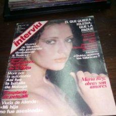 Coleccionismo de Revista Interviú: REVISTA INTERVIU N°83 DEL AÑO 1977.. Lote 145523400
