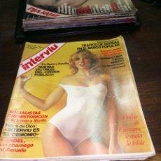 Coleccionismo de Revista Interviú: REVISTA INTERVIU N° 62 DEL AÑO 1977.. Lote 145523770