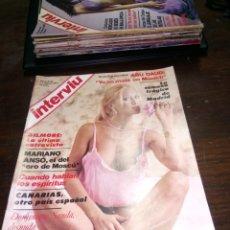 Coleccionismo de Revista Interviú: REVISTA INTERVIU N° 38 DEL AÑO 1977.. Lote 145524570