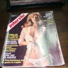 Coleccionismo de Revista Interviú: REVISTA INTERVIU N° 45 DEL AÑO 1977.. Lote 145525326