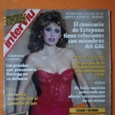 Coleccionismo de Revista Interviú: INTERVIÚ Nº 714. ALESSANDRA MUSSOLINI (PORTADA) DESNUDA. PÓSTER GIGANTE KIM BASINGER/NASTASSIA KINSK. Lote 145745966